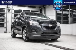 Used 2016 Chevrolet Trax LS FWD chez Rimouski Hyundai for sale in Rimouski, QC