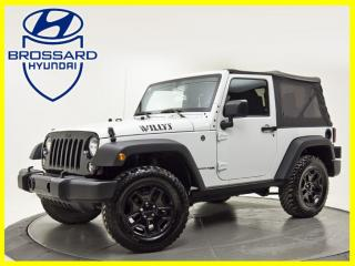 Used 2018 Jeep Wrangler Sport 4x4 Willy 's Edition A/C Mags Bluetooth for sale in Brossard, QC