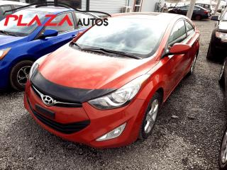 Used 2013 Hyundai Elantra Coupe 2dr Cpe Man GLS for sale in Beauport, QC
