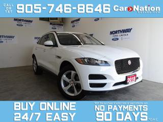 Used 2018 Jaguar F-PACE 25t PREMIUM | AWD | PANO ROOF | LEATHER | NAV for sale in Brantford, ON