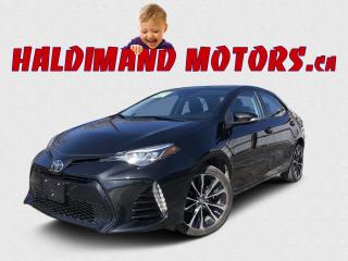 Used 2018 Toyota Corolla SE CVT for sale in Cayuga, ON
