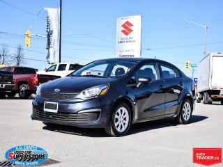 Used 2016 Kia Rio LX ~Bluetooth ~Power Windows + Locks ~A/C for sale in Barrie, ON