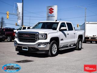 Used 2017 GMC Sierra 1500 SLE Kodiak Crew Cab 4x4 ~Htd Seats ~Bluetooth ~Cam for sale in Barrie, ON