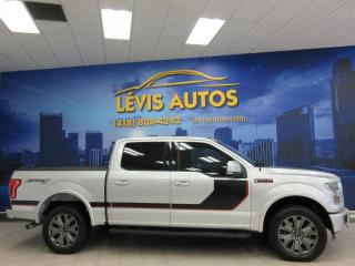 Used 2016 Ford F-150 LARIAT SPORT 502A SUPERCREW CAB V8 5 LIT for sale in Lévis, QC