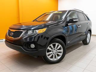 Used 2011 Kia Sorento EX AWD SIÈGES CHAUFFANTS CUIR NAV *TOIT PANO* for sale in Mirabel, QC