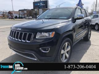 Used 2015 Jeep Grand Cherokee 4 RM, 4 portes, Limited for sale in Shawinigan, QC