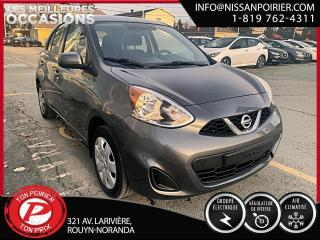 Used 2017 Nissan Micra SV (frais vip 395$ non inclus) for sale in Rouyn-Noranda, QC
