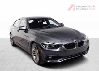 Used 2018 BMW 4 Series 430i Sport Pack xDrive Cuir Toit GPS Caméra for sale in Île-Perrot, QC
