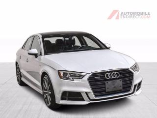 Used 2018 Audi A3 Progressiv S-Line Quattro Cuir Toit Caméra for sale in Île-Perrot, QC