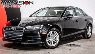 Used 2017 Audi A4 Komfort quattro CUIR+TOIT.OUVRANT+SIEGES.CHAUFFANT for sale in Boisbriand, QC