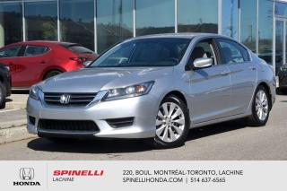 Used 2014 Honda Accord LX SEDAN 1 PROPRIO 8 PNEUS AUTO AC MAGS BLUETOOTH ++ for sale in Lachine, QC