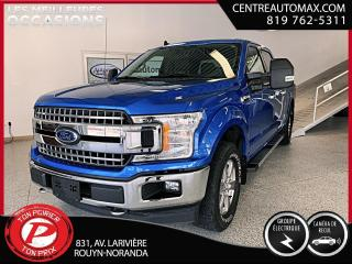 Used 2019 Ford F-150 XLT 5L (frais vip 395$ non inclus) for sale in Rouyn-Noranda, QC