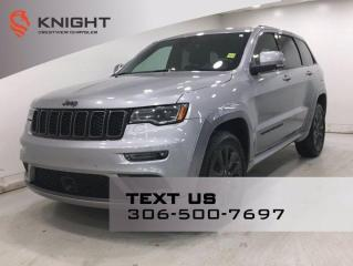 Used 2018 Jeep Grand Cherokee High Altitude II | Leather | DVD | Navigation | for sale in Regina, SK