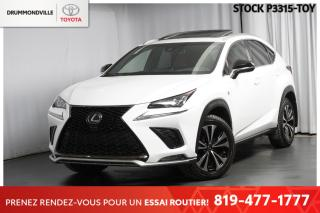 Used 2018 Lexus NX F SPORT  ** CUIR ROUGE+AFFICHAGE TÊTE HAUTE ** for sale in Drummondville, QC