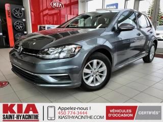 Used 2018 Volkswagen Golf Trendline ** CAMÉRA DE RECUL / MAGS for sale in St-Hyacinthe, QC