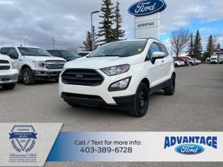 Used 2018 Ford EcoSport SES LOW KMS - ONE PREV OWNER - MOONROOF - CLEAN CARFAX for sale in Calgary, AB