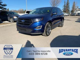 Used 2016 Ford Edge Sport LOADED - 3M - ONE PREVIOUS OWNER for sale in Calgary, AB