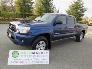 Used 2014 Toyota Tacoma DOUBLE CAB, V6, 4X4, INSP, WARR, FINANCE & FREE BCAA MBSHP for sale in Surrey, BC