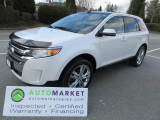 Used 2012 Ford Edge Limited AWD LOADED INSPECTED FINANCING FREE WARR & BCAA MEMBERSHIP for sale in Surrey, BC