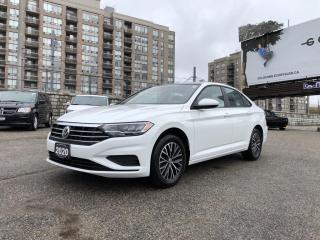 Used 2020 Volkswagen Jetta Highline 8-Speed Automatic w/TiptronicTorsion Beam Rear Suspension w/Coil Springs for sale in North York, ON