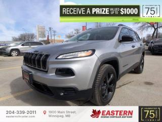 Used 2016 Jeep Cherokee Altitude | 1 Owner | Backup Cam | Remote Start | Htd. Seats | for sale in Winnipeg, MB