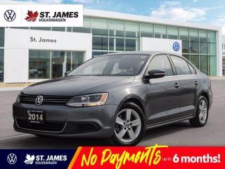 Used 2014 Volkswagen Jetta Sedan Comfortline, Bluetooth, Heated Seats, Power Sunroof for sale in Winnipeg, MB