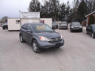 Used 2010 Honda CR-V AWD  EXL for sale in Elmvale, ON