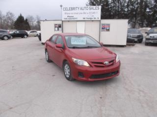 Used 2013 Toyota Corolla LE for sale in Elmvale, ON