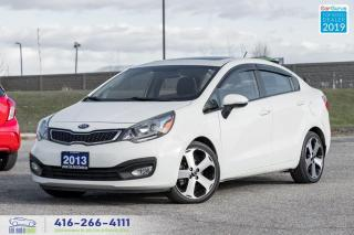 Used 2013 Kia Rio SX|Navigation|Sunroof|Leather| for sale in Bolton, ON