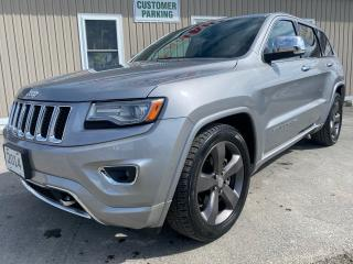 Used 2014 Jeep Grand Cherokee Overland for sale in Tilbury, ON