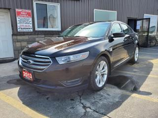Used 2013 Ford Taurus SEL-AWD-LEATHER-SUNROOF-NAVIGATION-REMOTE START for sale in Tilbury, ON