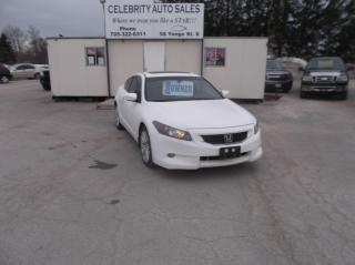 Used 2010 Honda Accord EXL for sale in Elmvale, ON