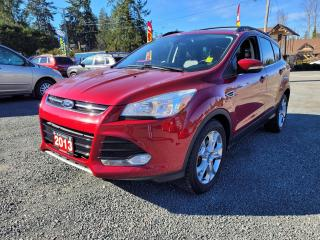 Used 2013 Ford Escape SEL for sale in Black Creek, BC