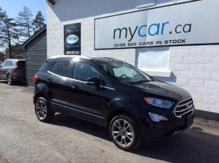 Used 2019 Ford EcoSport Titanium LEATHER, SUNROOF, HEATED SEATS, BACKUP CAM!! for sale in Richmond, ON
