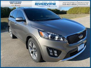 Used 2016 Kia Sorento 3.3L SX Sunroof | Leather | Cruise Control for sale in Wallaceburg, ON