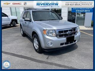 Used 2011 Ford Escape XLT Automatic Local Trade | One Owner | FWD | 2.4L ENGINE for sale in Wallaceburg, ON