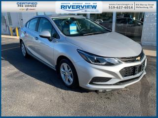 Used 2016 Chevrolet Cruze LT Auto lOW KM | Remote Start | Rear Camera | Heated Seats for sale in Wallaceburg, ON