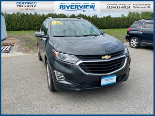 Used 2019 Chevrolet Equinox LT One Owner | No Accidents | Rear HD Camera |  Heated Seats | Automatic Climate Control | Sirius XM Ra for sale in Wallaceburg, ON