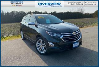 Used 2019 Chevrolet Equinox Premier Wireless Charging | Bluetooth | Memory Seats | One Owner | No Accidents for sale in Wallaceburg, ON