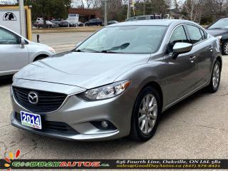 Used 2014 Mazda MAZDA6 Touring|SINGLE OWNER|LOW KM|SUNROOF|NAV|CERTIFIED for sale in Oakville, ON