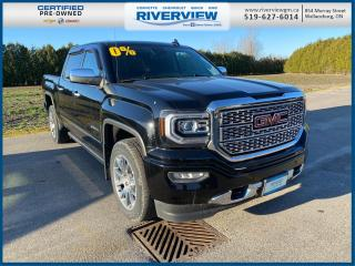Used 2018 GMC Sierra 1500 Denali Wireless Charging | Front & Rear Park Assist | One Owner | No Accidents for sale in Wallaceburg, ON