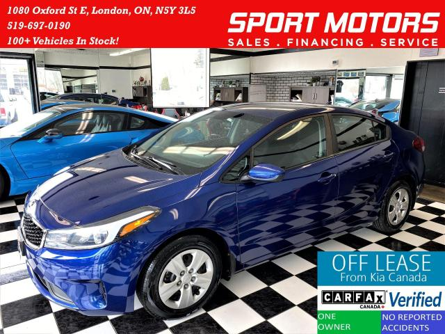 2017 Kia Forte LX+New Tires & Brakes+Bluetooth+A/C+ACCIDENT FREE