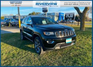 Used 2018 Jeep Grand Cherokee Limited Rear HD Camera |  Heated Seats | Automatic Climate Control | Sirius XM Radio | No Accidents for sale in Wallaceburg, ON