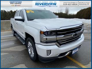 Used 2018 Chevrolet Silverado 1500 High Country Navigation | Heated Seats | Cooled Seats | Bluetooth | CD Player | Bose Speakers for sale in Wallaceburg, ON