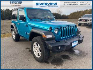 Used 2019 Jeep Wrangler Sport One Owner | No Accidents | Local Trade | Heated Seats | Heated Steering Wheel for sale in Wallaceburg, ON
