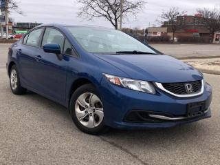 Used 2015 Honda Civic Sedan 4dr Auto LX for sale in Waterloo, ON