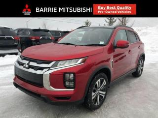Used 2020 Mitsubishi RVR GT | Panoramic Roof | Blind Spot | Leather for sale in Barrie, ON