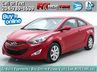 Used 2013 Hyundai Elantra Coupe GLS for sale in Winnipeg, MB