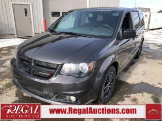 Used 2017 Dodge Grand Caravan SXT 4D Wagon 3.6L for sale in Calgary, AB