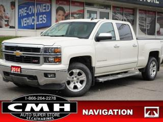 Used 2014 Chevrolet Silverado 1500 LTZ w/2LZ  Z71 NAV CAM ROOF LEATH TOW for sale in St. Catharines, ON